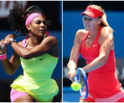 Mega semifinala la Wimbledon.Serena Williams vs Maria Sharapova