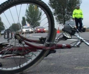 Biciclist accidentat in localitatea Satu Nou.