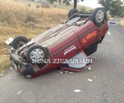 UPDATE:Accident rutier in apropiere de Husi.-FOTO