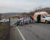Accident grav la intrarea in Husi-FOTO/VIDEO