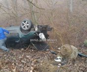 Accident rutier la Ghermanesti- FOTO
