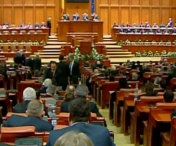 SCANDAL in Parlament pe tema OUG 55