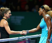 Simona Halep a fost invinsa de Serena Williams