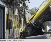 TRAGEDIE! Accident feroviar cu 20 de morti in Italia