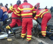 Accident grav in Buzau