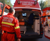 Accident in lant provocat de o soferita neatenta