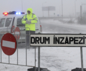A2, A4 si 40 de drumuri nationale, INCHISE!