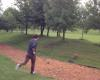 VIDEO - Vulpea are chef de joaca pe terenul de golf :)
