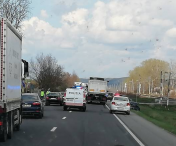 VIDEO I Accident grav la Jucu. Au fost implicate 4 autoturisme