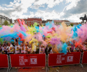 FOTO/VIDEO I Peste 3500 de persoane au participat la The Color Run 2019
