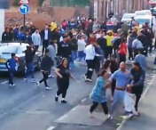 VIDEO! Bataie intre clanurile de romi in Sheffield