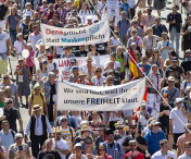 Berlin: Proteste ample contra măsurilor anti-COVID-19