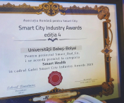 UBB premiată la cea de-a patra ediție a Galei Smart City Industry Awards 2019