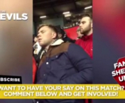 Plictiseala totala in tribunele lui Manchester: Un fan a adormit la meci - VIDEO