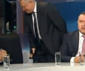 Un politician a parasit studio-ul de la B1TV in timpul emisiei