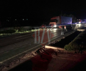 Accident pietonal Crasna. Victima transportata de Smurd la Vaslui - FOTO/VIDEO