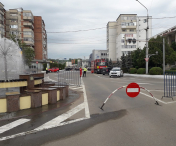 Trafic restrictionat pe o strada din municipiul Barlad