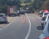 Accident grav in zona Murgeni - FOTO