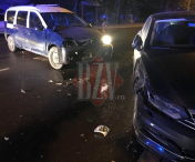 Accident rutier in zona Cina din Husi-FOTO
