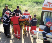 Accident grav in localitatea vasluiana Gusitei.