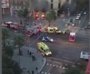 BREAKING NEWS! EXPLOZIE puternica in Barcelona! Sunt ZECI de victime - VIDEO