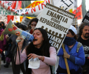Proteste de amploare in Grecia