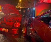 Accident rutier intr-o intersecție din Husi - FOTO