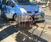 Husi: Neatentia a provocat un accident la intersectia spre Padureni - FOTO
