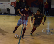 Inter Traian si-a zdrobit adversara din prima etapa a Campionatului National de futsal, Under 19
