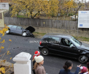 Accident rutier in zona CORNI din municipiul HUSI-FOTO