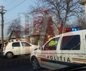 Accident rutier in Husi – FOTO