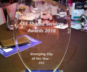 "Iasul a castigat titlul de ""Emerging City of the Year"" la Gala CEE Shared Services and Outsourcing Awards - FOTO"