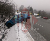 Accident pe DE581, la intrarea in Husi – FOTO/LIVE