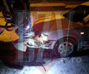 Accident la Husi: soferul nu a pastrat distanta regulamentara – FOTO