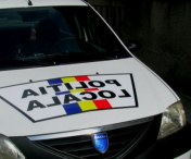 Un politist local a fost accidentat de un sofer in timp ce voia sa il amendeze