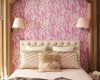 classical and glamorous bedroom in cold pink 1