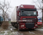 Autocamion furat din Germania descoperit in Albita