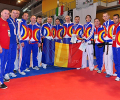 Vasluieni la lotul national de taekwon-do