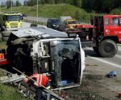 Un roman a murit intr-un accident in Italia