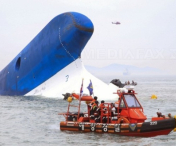 Accident mortal la bordul epavei feribotului sud-coreean Sewol