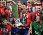 Atletico Madrid a castigat trofeul Europa League