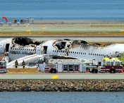 Noi imagini de la accidentul Asiana de la San Francisco - VIDEO