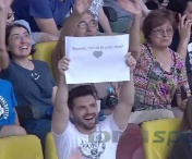 VIDEO - Simona Halep, CERUTA IN CASATORIE pe National Arena