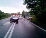 Accident pe DN69, intre Vinga si Sagu