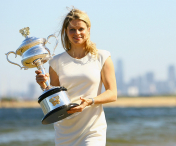 Andy Roddick si Kim Clijsters, in Hall of Fame