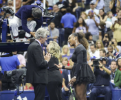 Serena Williams a facut circ pe teren in finala US Open! Japoneza Osaka s-a impus in minimum de seturi in fata americancei