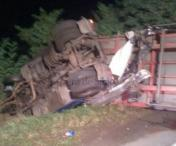 Accident cumplit in judetul Sibiu! Un sofer de tir a murit pe loc