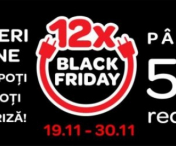 12 zile de preturi nebune la Carrefour de Black Friday!