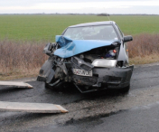 Accident grav in Caras-Severin. A intervenit echipajul de descarcerare